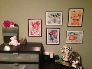 My new collection of Camilla d'Errico artwork includes an homage to My Little Pony and Hello Kitty!