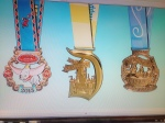 Medals I will soon own!