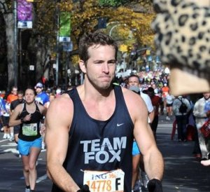 Ryan Reynolds  marathon