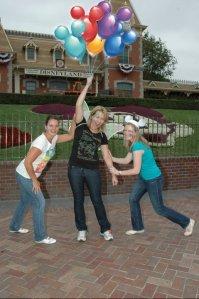 "Post-race, 30th Birthday Fun with Disney ""Magic Shots"""