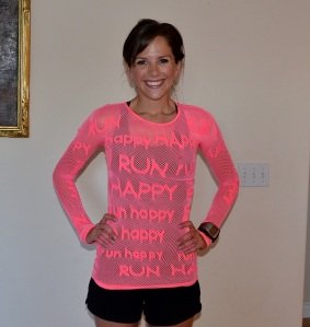 I would definitely Run Happy in this shirt!