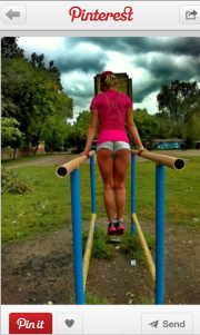I workout in those shorts too..NOT