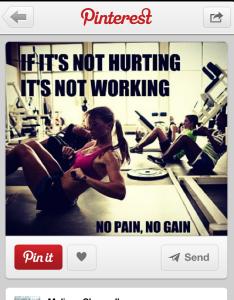Again...so much pain talk? WTF