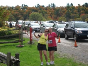 Fall Colours Half Marathon circa 2007