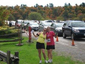 Fall Colours Half Marathon circa 2007