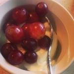 grapes n greek yogurt