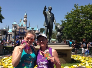 Me and Annette, post Pixie Dust Challenge