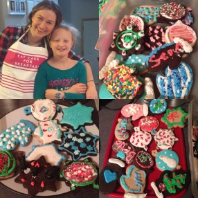 Annual baking night with B