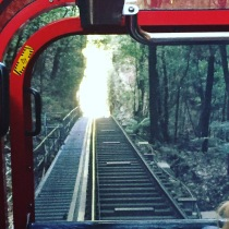 steepest railway in the world at the Blue Mountains